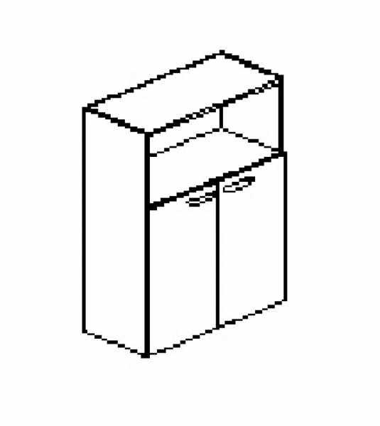 Silver irodabútor-irodai-nyitott-ajtós-irodai-szekrény