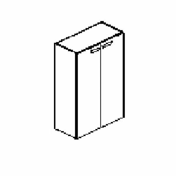 Silver irodabútor-irodai-ajtós-szekrény