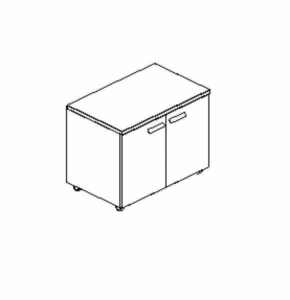 Silver irodabútor-irodai-kétajtós-nyomtató-szekrény